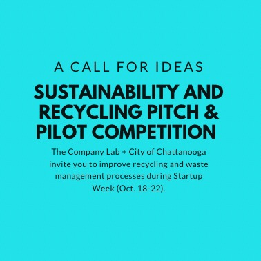 Sustainability and Recycling Pitch & Pilot Competition