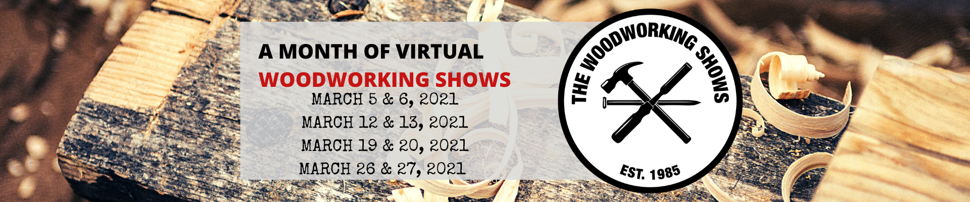 The Month of Woodworking Shows - All Seminars
