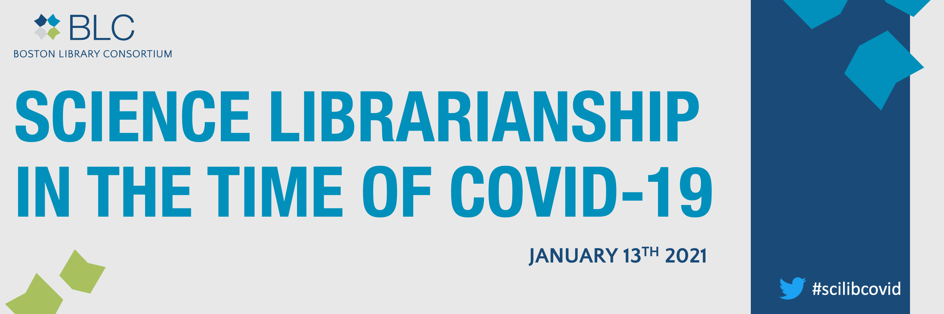 Science Librarianship in the time of COVID-19