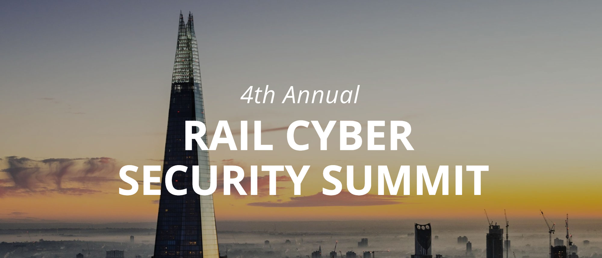 4th Annual Rail Cybersecurity Summit